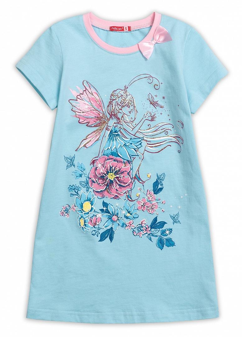 WFDT3030 ночная сорочка для девочек (1 шт в кор.)