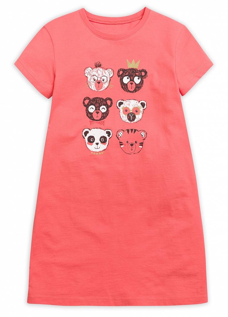 WFDT4082 ночная сорочка для девочек (1 шт в кор.)